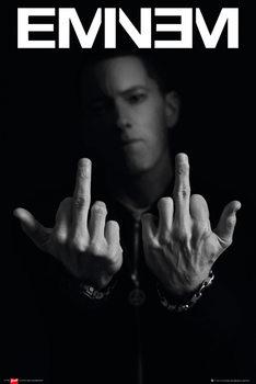 Eminem - fingers - плакат (poster)