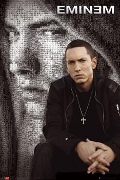 Eminem - mosaic - плакат (poster)