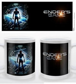 Bögre Ender's game - logo