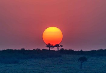 Ταπετσαρία τοιχογραφία  Equatorial Sunset