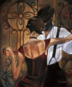 Evening Tango Festmény reprodukció