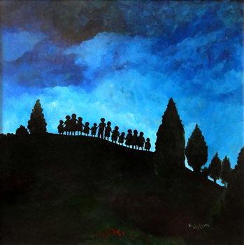 Konsttryck A New Dawn Rising, 2008,