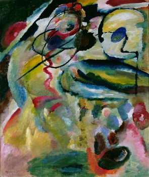 Konsttryck Abstract Composition, 1911