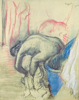 Konsttryck After the Bath, 1903