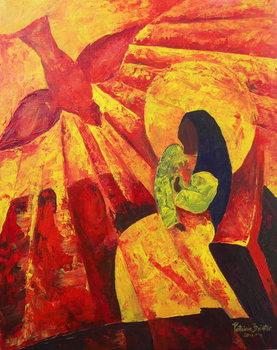Konsttryck Annunciation, 2011