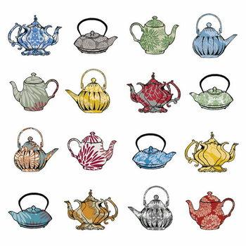 Konsttryck Anyone for tea? 2012