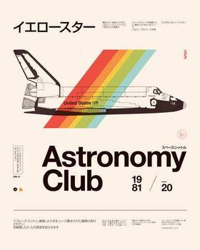 Konsttryck Astronomy Club
