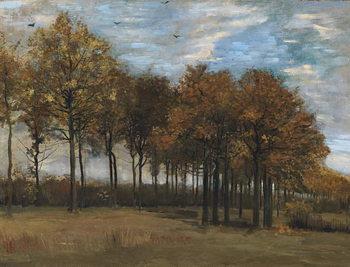 Konsttryck Autumn Landscape, c.1885