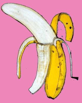 Konsttryck Banana, 2014