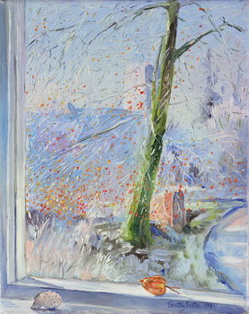 Konsttryck Beech Tree and Haw Frost, 1989