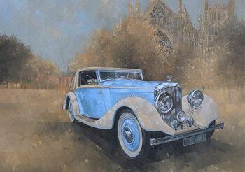 Konsttryck Bentley by Kellner, 1936