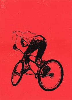 Konsttryck Biker Boy