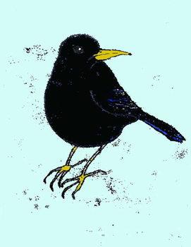 Konsttryck Blackbird,2008