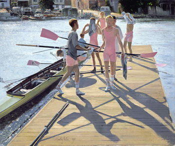 Konsttryck Blades and Shadows, Henley, 1995