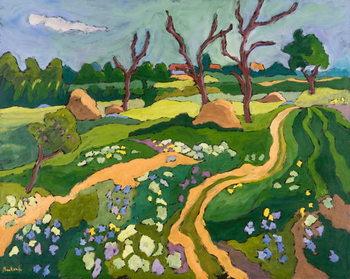 Konsttryck Blooming Erpart, 2006