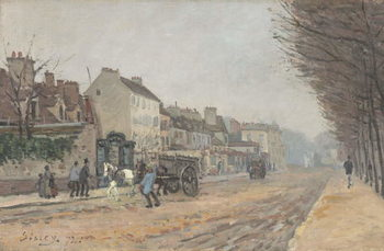 Konsttryck Boulevard Héloïse, Argenteuil, 1872