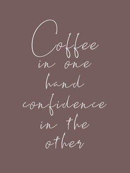 Illustration Coffee & confidence