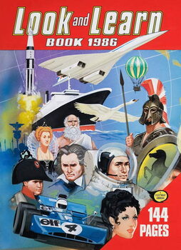 Konsttryck Cover of the Look and Learn Book 1986