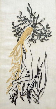 Konsttryck Daphne,