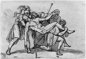 Konsttryck Death of Meleager