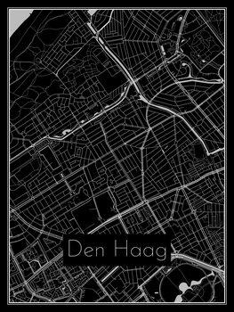 Karta över Den Haag