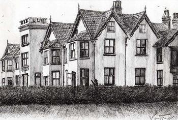 Konsttryck Dimbola Lodge I.O.W., 2009,