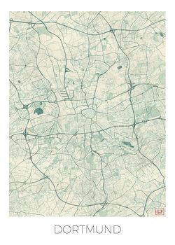 Karta över Dortmund