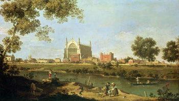 Konsttryck Eton College, c.1754