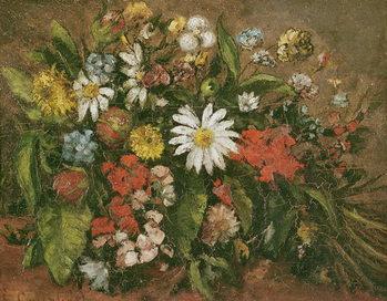 Konsttryck Flowers, 1871