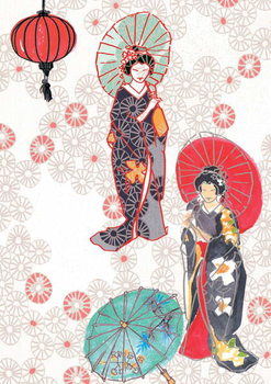 Konsttryck Geisha, 2013