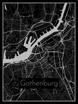 Karta över Gothenburg