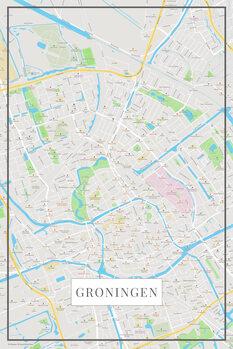 Karta Groningen color