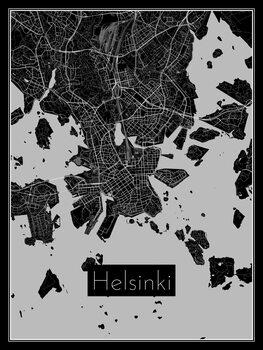 Karta över Helsinki
