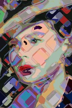 Konsttryck Ingrid Bergman