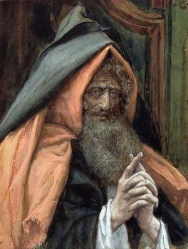 Konsttryck Joseph of Arimathea, illustration for 'The Life of Christ', c.1886-94