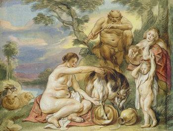 Konsttryck Jupiter as a Child