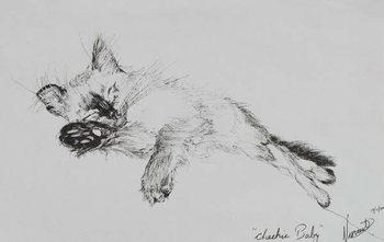 Konsttryck Kitty 'Baby', 2002,
