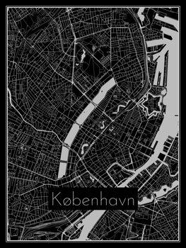 Karta över København