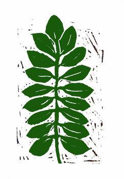 Konsttryck Leaf,2019