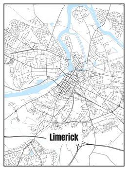 Karta över Limerick