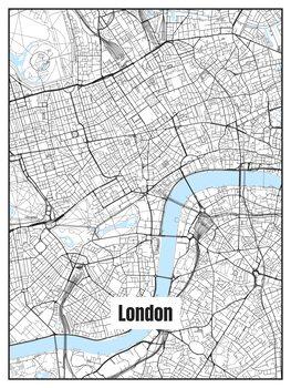 Karta över London
