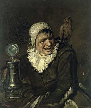 Konsttryck Malle Babbe, 1869