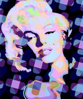Konsttryck Marilyn Monroe