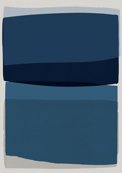 Illustration Modern Blue