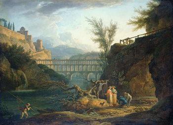 Konsttryck Noon, 1760