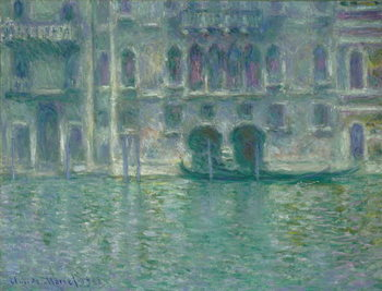 Konsttryck Palazzo da Mula, Venice, 1908