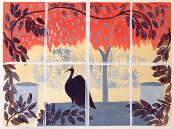 Konsttryck Paon sur la Table, 1985