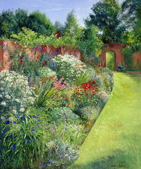 Konsttryck Path to the Secret Garden