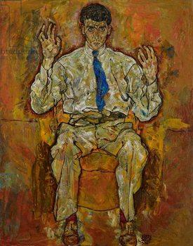 Konsttryck Portrait of Paris von Gütersloh, 1918