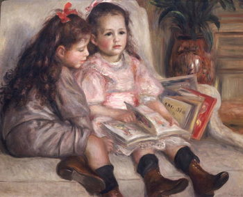 Konsttryck Portraits of children, or The Children of Martial Caillebotte, 1895